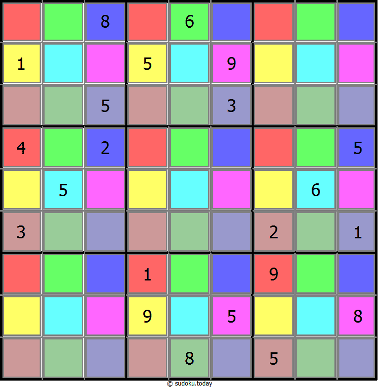 Color Sudoku 24-June-2020