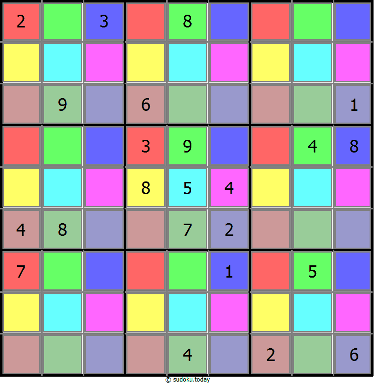 Color Sudoku 22-June-2020