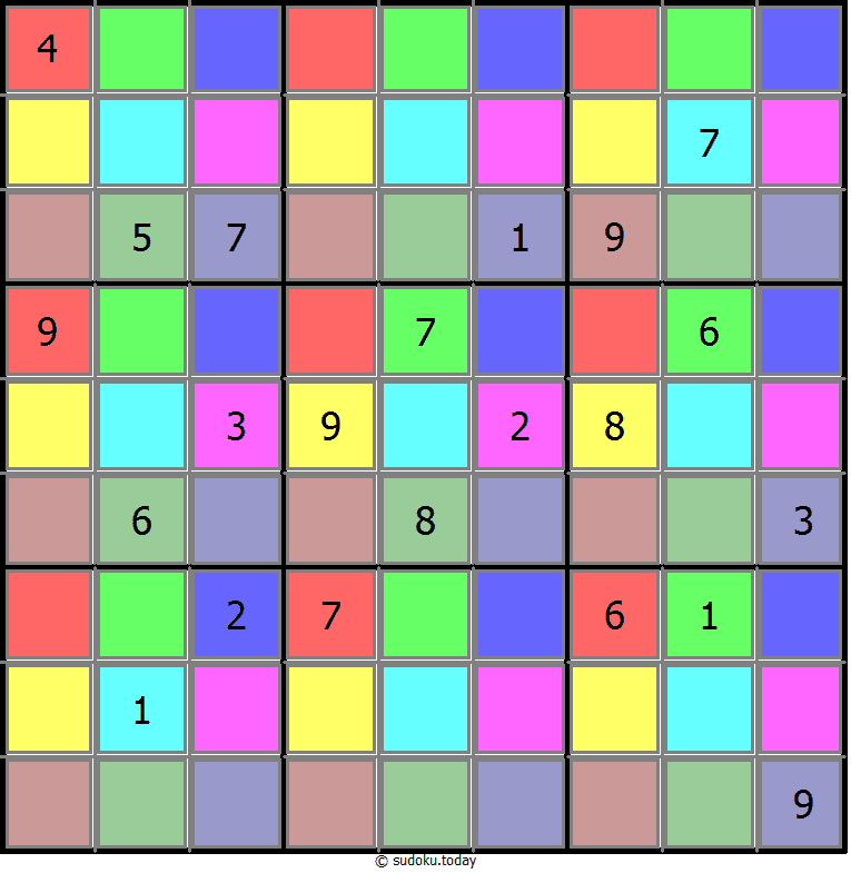 Color Sudoku 23-June-2020