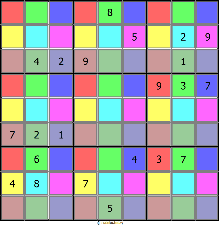 Color Sudoku 30-June-2020