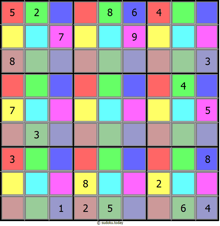 Color Sudoku 27-June-2020